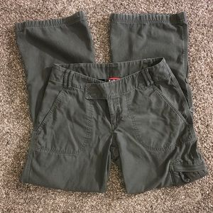 The North Face Olive green cargo Capri pants, 8